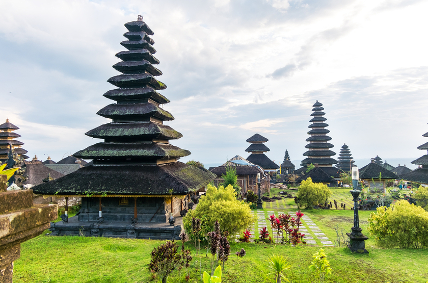 Temple Ajung Pura, Seminyak, Bali, Indonesie