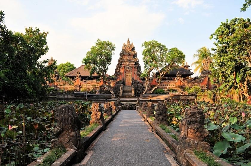 Temple de Saraswati, Bali, Indonesie