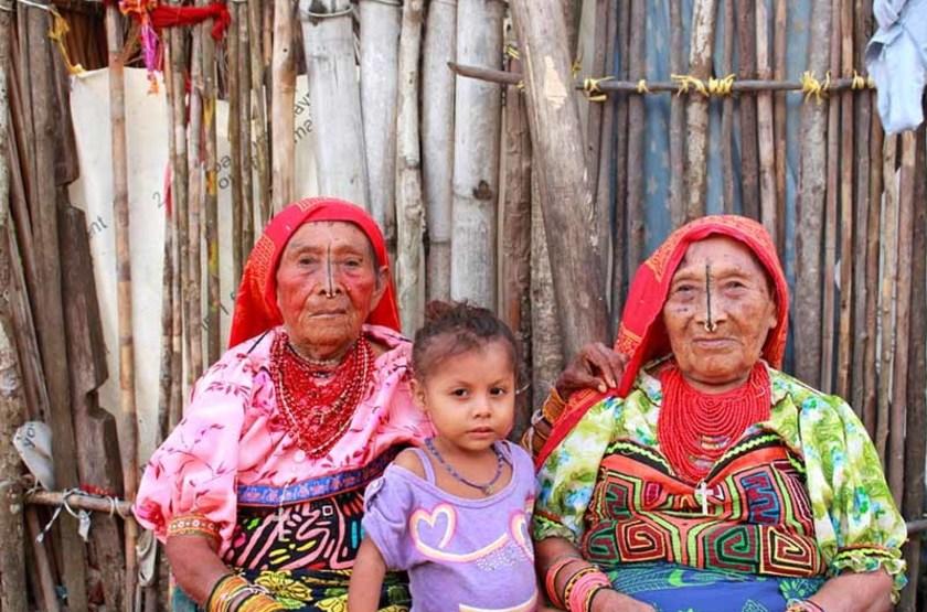 Femmes Kuna, région de San Blas, Panama