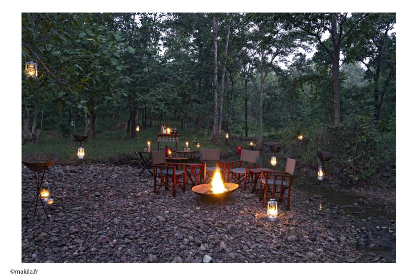 Reni Pani Jungle Lodge, au bord du Parc de Satpura