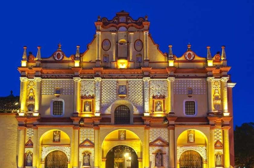Cathédrale de San Cristóbal de Las Casas, Mexique