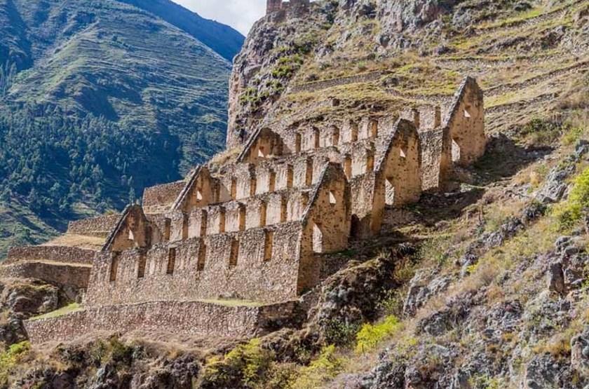 Ruines de Pinkulluna, vallée sacrée des Incas, Pérou