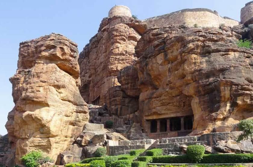 Temple grotte de Badami, Inde