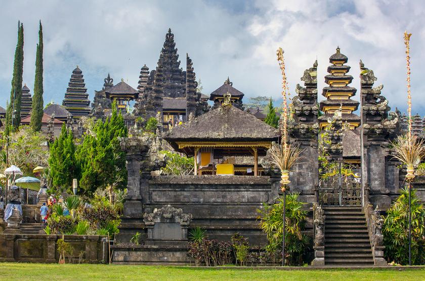 Temple de Besakih, Pura, Bali, Indonesie