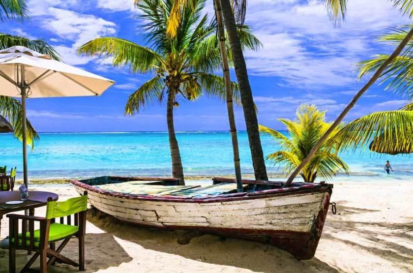 Ile Maurice, Restaurant bord de mer