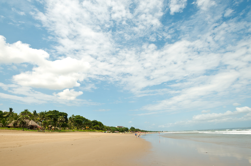 plage de Seminyak, Bali, Indonesie