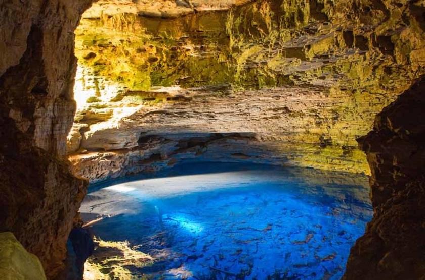 Grottes de Diamants à Chapada, Brésil