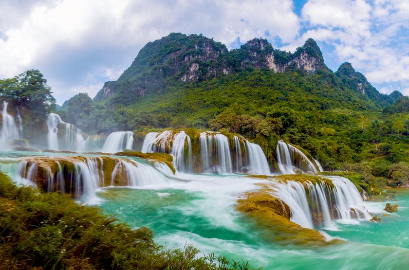 cascades Bang-Gioc, Cao-Bang, Vietnam