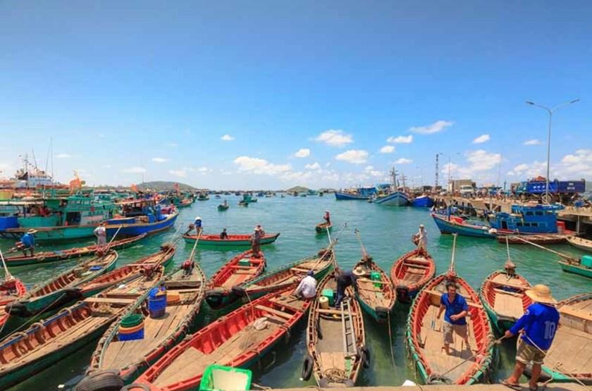 Village de pêcheurs, Île Phu Quoc, Vietnam