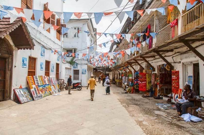 Rue de Stone Town, Zanzibar