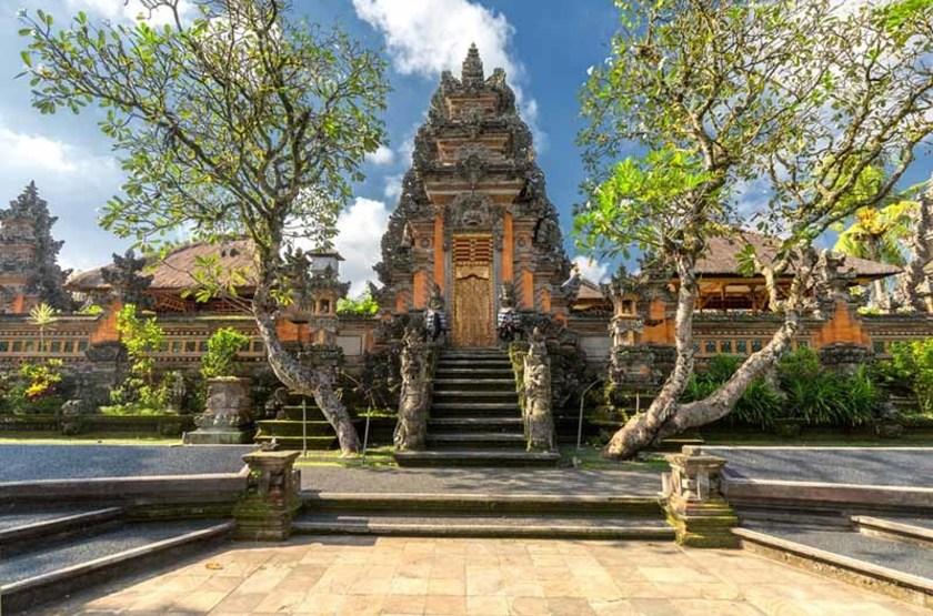 Palais d'Ubud, Indonésie