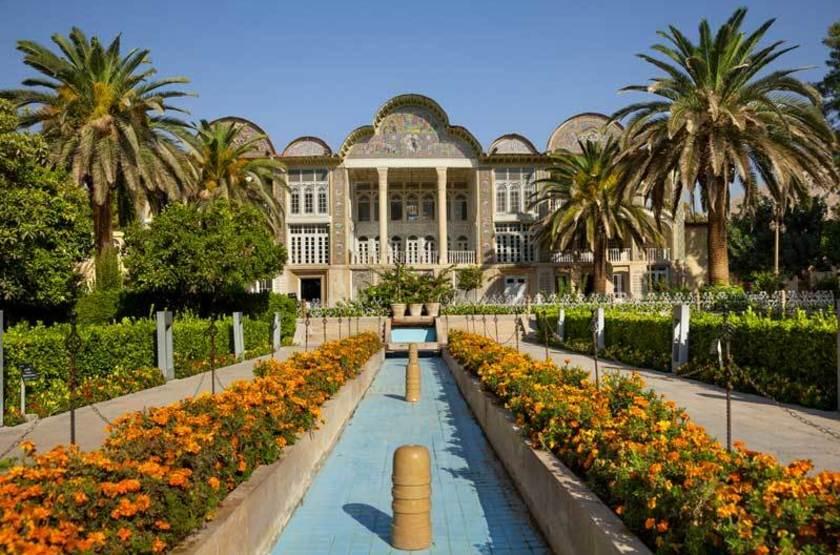 Jardin persan à Shiraz, Iran