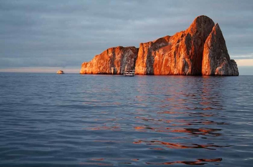 Rocher Léon Dormido, Îles Galapagos