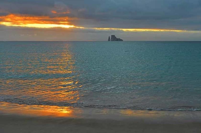 Rocher Kicker, Îles Galapagos