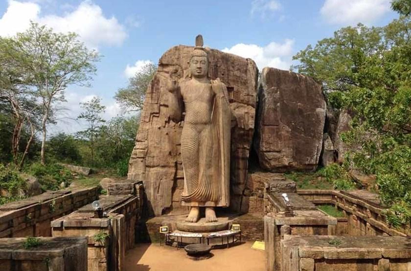 Statue de Bouddha Avukana, Sri Lanka