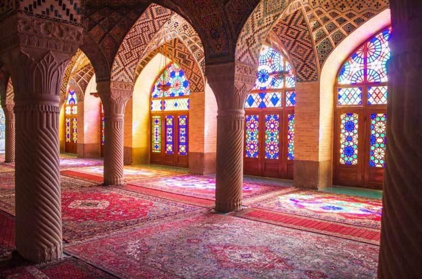 Mosquee Nasir ol Molk, Chiraz, Iran