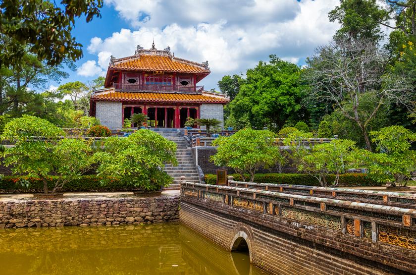 Tombe de l'Empeureur, Minh-Mang, Hue, Vietnam