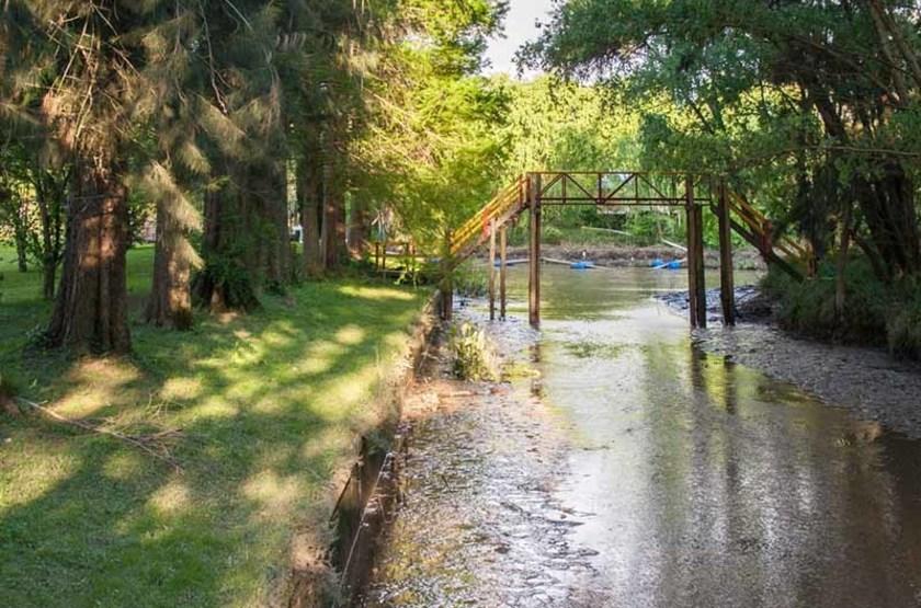 Canal de la ville de Tigre, Argentine