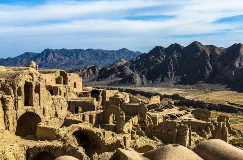 Ruines de Kharanaq, Iran