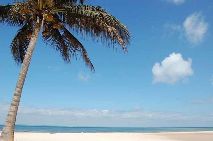 Une plage de l'île Benguerra, Mozambique