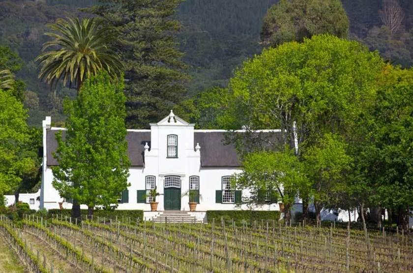 Style Cape Dutch en Afrique du Sud