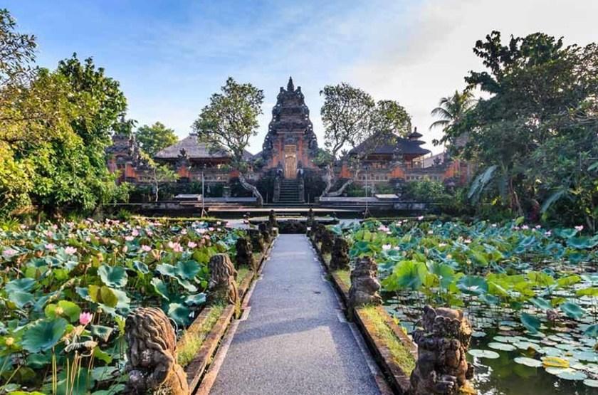 Temple Balinais, Ubud, Indonésie
